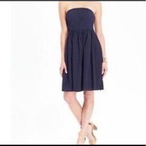 GAP strapless eyelet dress